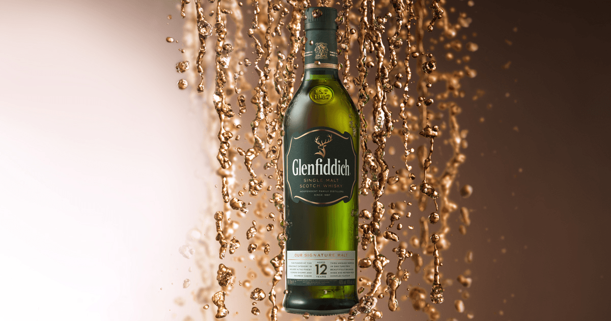 Glenfiddich whiskey