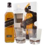 Johnnie Walker Black Label 12 ročná + 2 poháre za 24,90 €