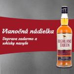 Whisky ako darček k nákupu a doprava zadarmo