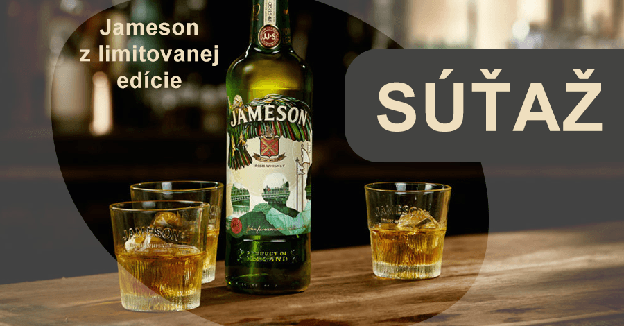 Súťaž o Jameson whiskey z limitovanej edície 2018